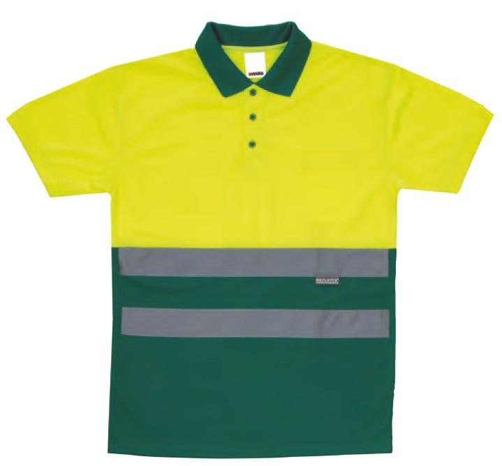 Polo bicolor serie 173