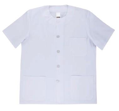 Chaqueta pijama blanco serie 597