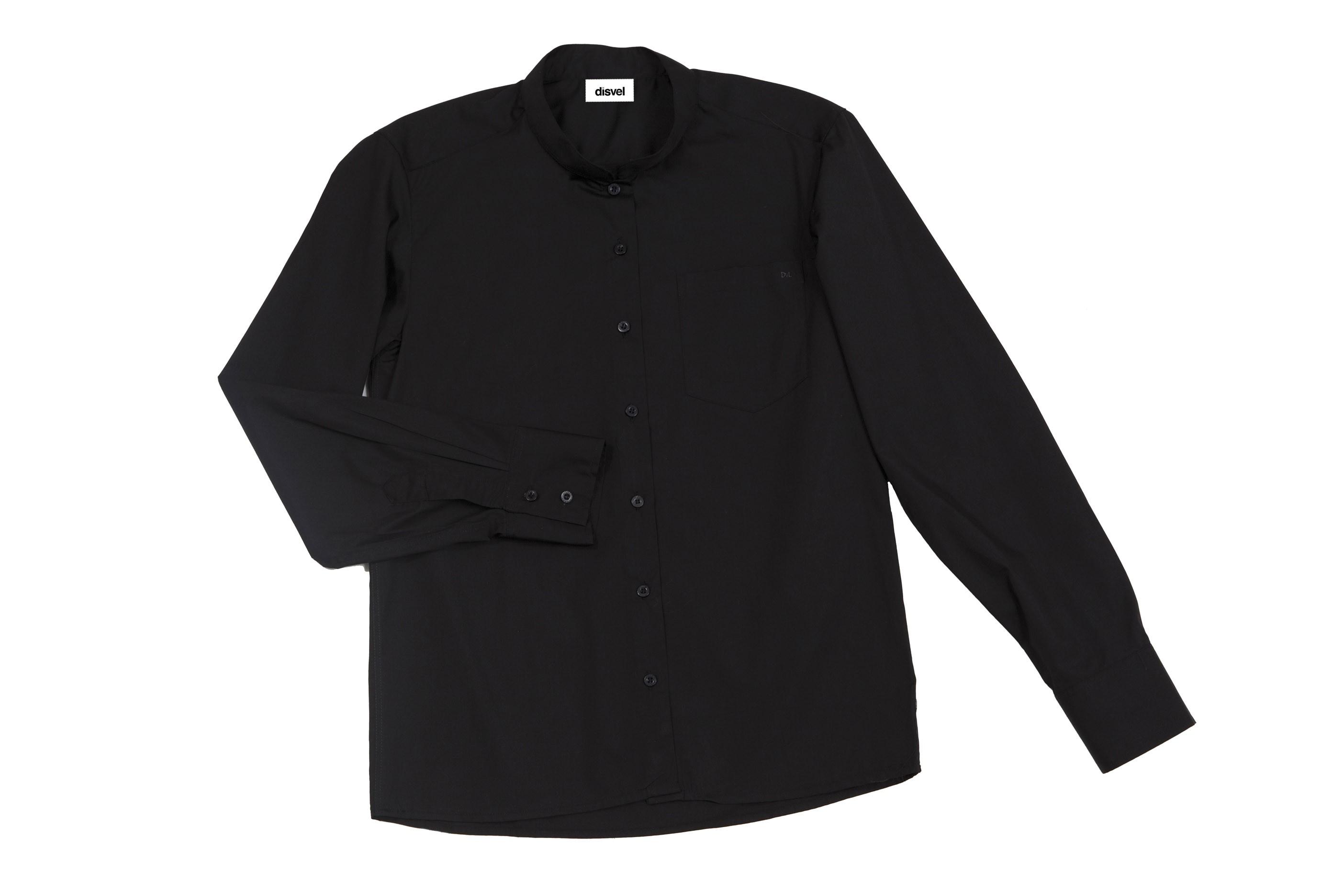 Camisa cuello mao serie Listán